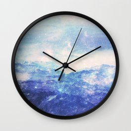 Ridges Of Time Wall Clock