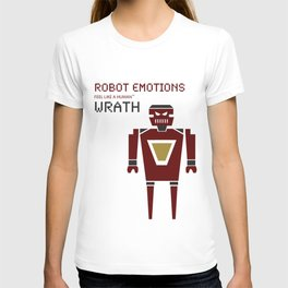 Wrath Robot Emotions T-shirt