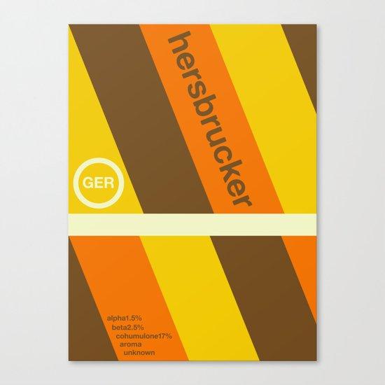 hersbrucker single hop Canvas Print
