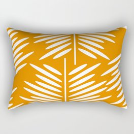 Leaves- minimal Rectangular Pillow