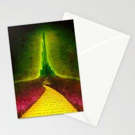 Dark Emerald Stationery Cards