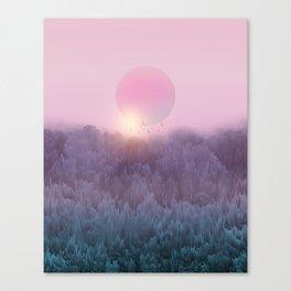 Landscape & gradients XIX Canvas Print