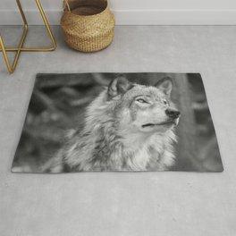 Beautiful wolf Rug