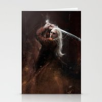 thranduil Stationery Cards featuring Thranduil by LucioL