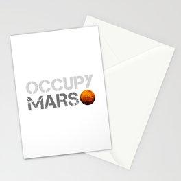 Occupy Mars Stationery Cards