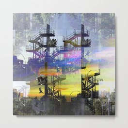First instance response emergence move etch notes? Metal Print