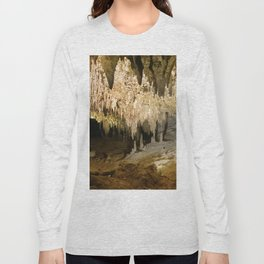 341 - Abstract cave design Long Sleeve T-shirt