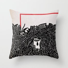 - migrants - Throw Pillow