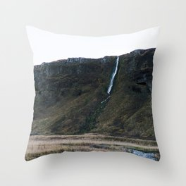 Seljalandsfoss 2 Throw Pillow