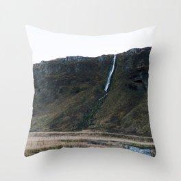 Seljalandsfoss 2 Throw Pillow
