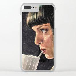 5 Dollar Milkshake Clear iPhone Case