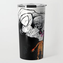 Poppin' the Donald Travel Mug