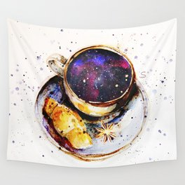 A cup of space Wall Tapestry