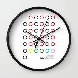 147 Wall Clock