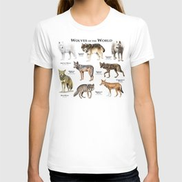 Wolves of the World T-shirt