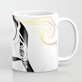 Smoke Letter Coffee Mug