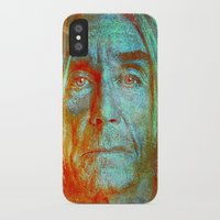 iggy pop iPhone & iPod Cases featuring Iggy by Joe Ganech