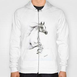 Arabian horse ink art Hoody