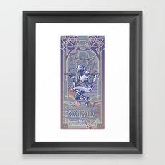 Aceite Fino Framed Art Print