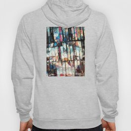 Musical Cassette Tapes Collage Hoody