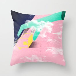 Brazil - A casa caiu Throw Pillow