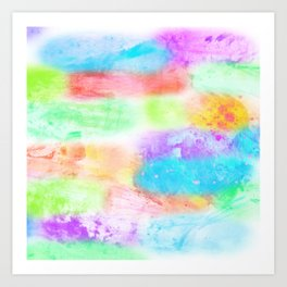 Splashes of Happiness Art Print