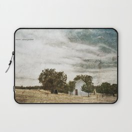 Little Blue Church Laptop Sleeve