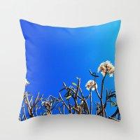 merida Throw Pillows featuring merida tree by Alison Kim