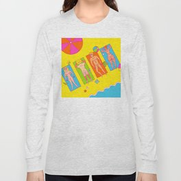 Nude Beach Long Sleeve T-shirt