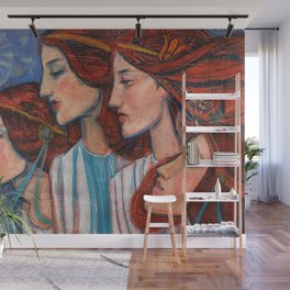 Tribute to Art Nouveau Wall Mural