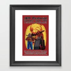 JBM Memorial Summer Slam 2015 Framed Art Print