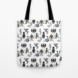 Cryptid Friends Tote Bag