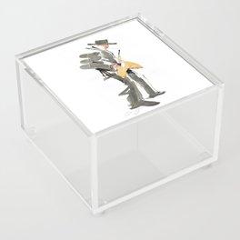 Musician Jazz Saxophone Acrylic Box