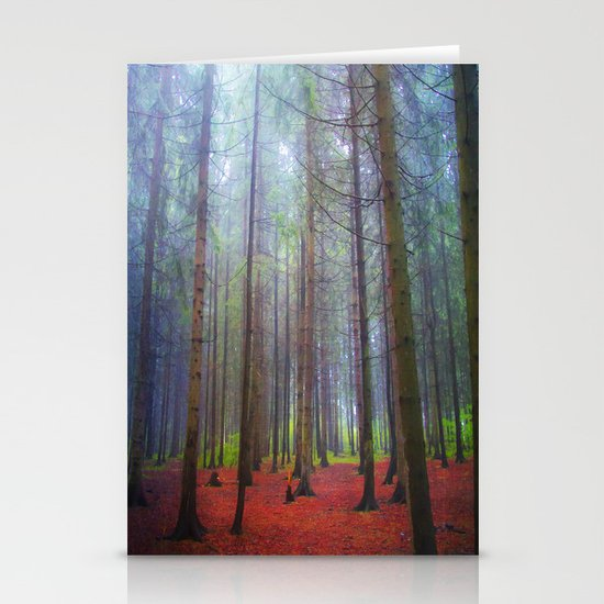 Back to the forest Stationery Cards