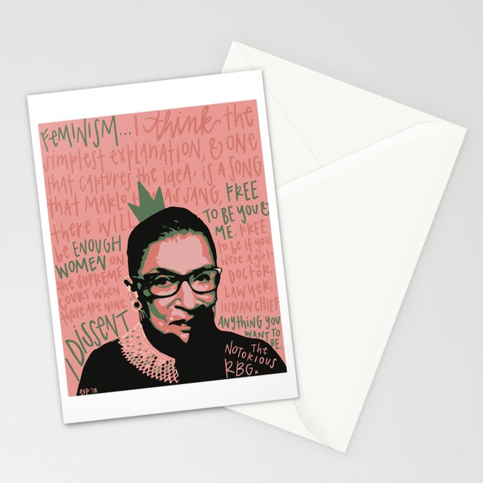 The Notorious RBG. Stationery Cards