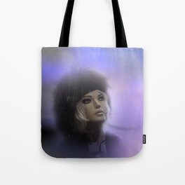 fashiondoll on pastell background Tote Bag