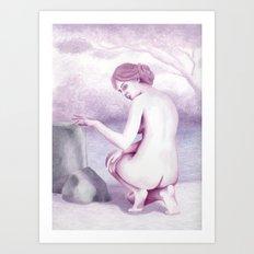 The Bather Art Print
