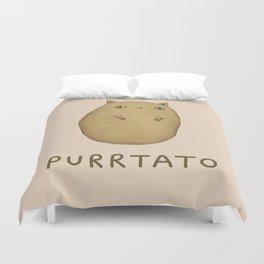 Purrtato Duvet Cover