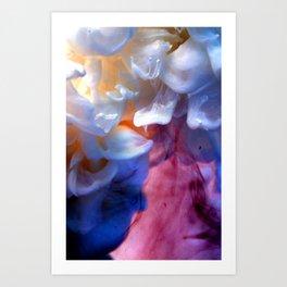 Milk petals Art Print