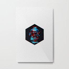 FCK Metal Print