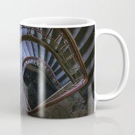 Spiral staircase in blue Coffee Mug