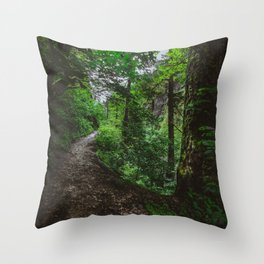 Trailblazing Throw Pillow