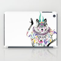vogue iPad Cases featuring Vogue by Tania Orozco