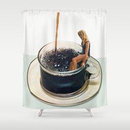 COFFEE by Beth Hoeckel Shower Curtain