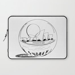 Sydney in a glass globe . artwork Laptop Sleeve