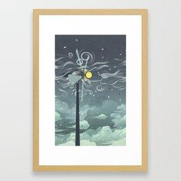 Wind Power! Framed Art Print