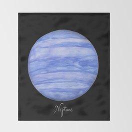 Neptune #2 Throw Blanket