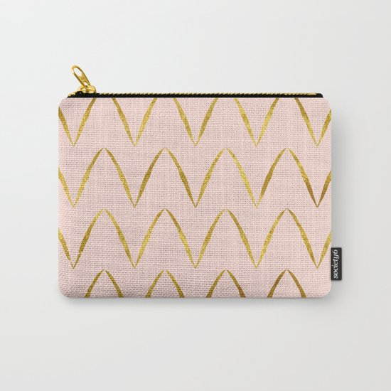 Pink Gold Foil 05 Carry-All Pouch
