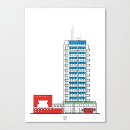 Hotel Humboldt Canvas Print
