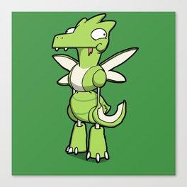 Pokémon - Number 123 Canvas Print